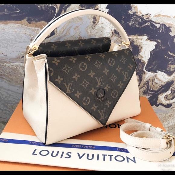 2e25194d8a Louis Vuitton Bags | Double V Grained Monogram Tote Bag | Poshmark